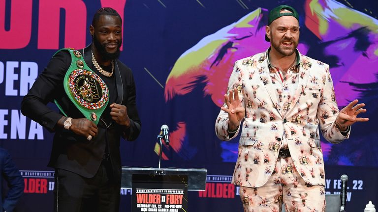 Fury faces Wilder on February 22