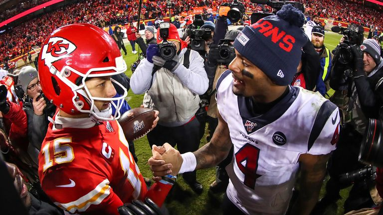Patrick Mahomes and Deshaun Watson - the NFL's next great rivalry?