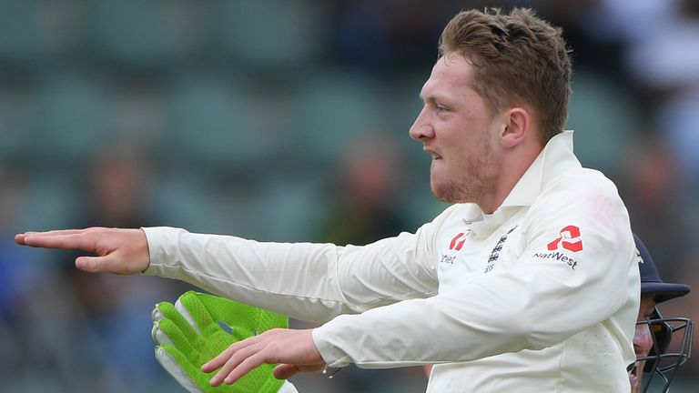 Dom Bess took the first five wickets in South Africa's first innings at St George's Park