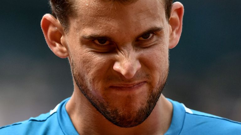 Thiem is hurtling towards a quarter-final collision course with Rafael Nadal in Melbourne