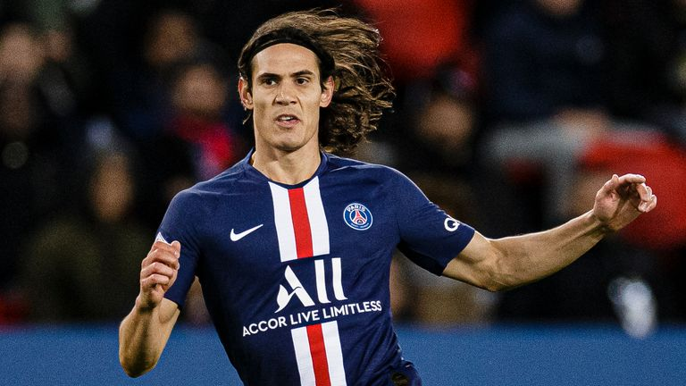 Edinson Cavani is reportedly looking for a move away from PSG