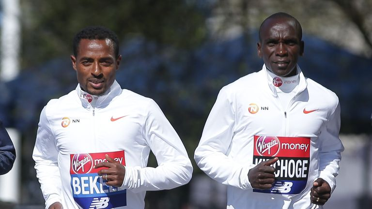 The world's two fastest marathon runners in history will face each other in London this year.