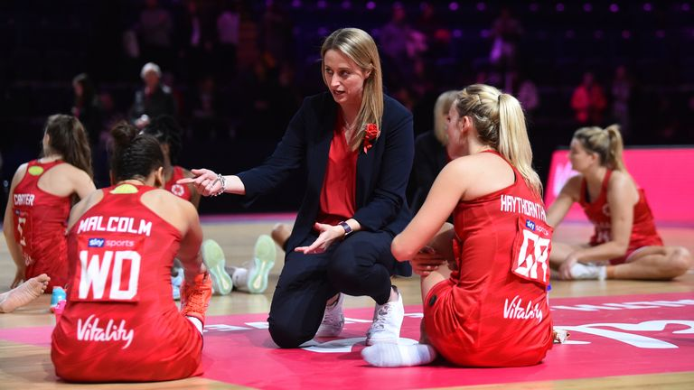 England's head coach has the highly experienced coach as her mentor