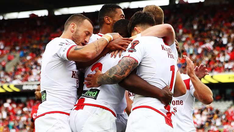 England will face Samoa in Newcastle in the 2021 Rugby League World Cup's opening game