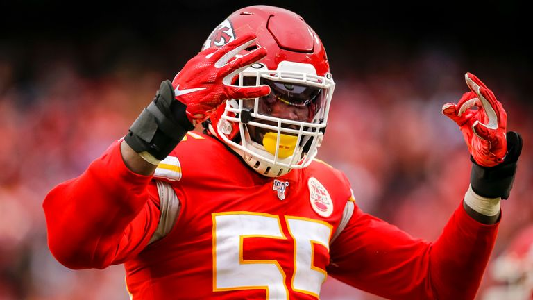 Frank Clark was traded to the Chiefs by the Seattle Seahawks in April 2019 before signing a five-year contract worth $105.5 million