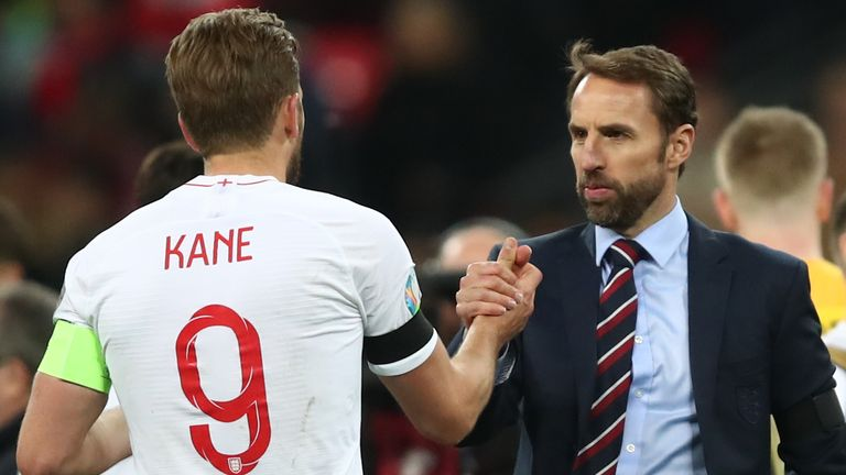 Gareth Southgate may need to make plans in case Harry Kane misses Euro 2020