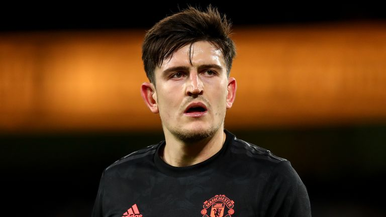 Harry Maguire has suffered a hip injury