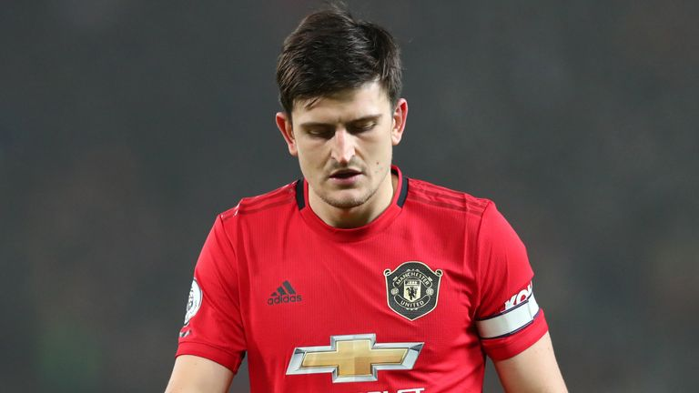 Harry Maguire has suffered a slight ankle injury