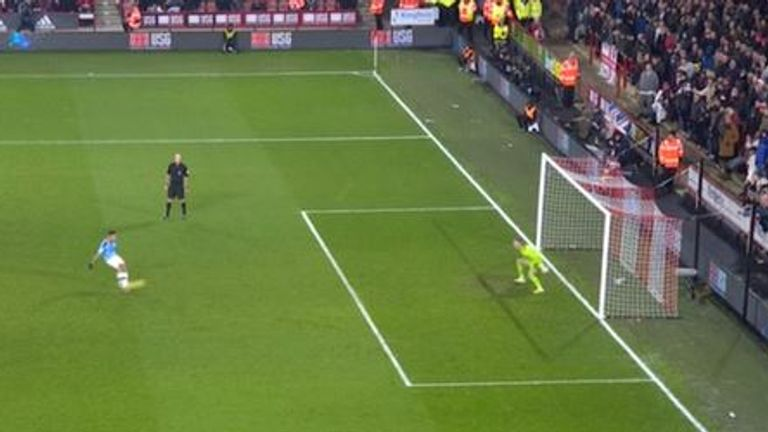Dean Henderson saved the spot-kick - but should it have been retaken?