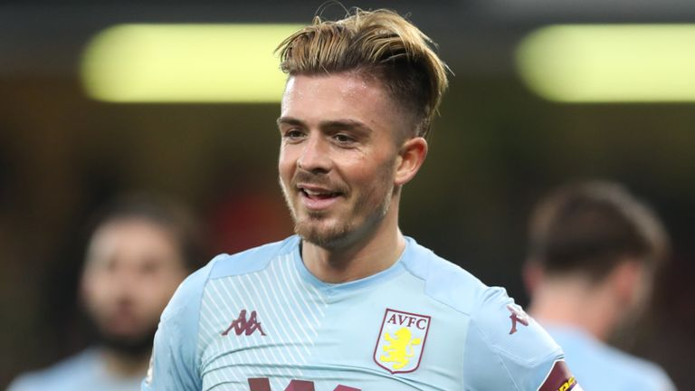 Jack Grealish has been involved in 14 goals in 21 games this season