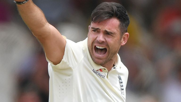 Anderson took five wickets during the first innings of the Cape Town Test