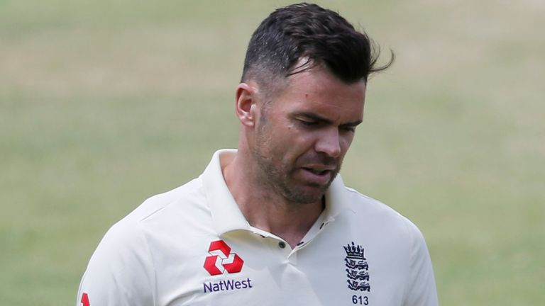 James Anderson took nine wickets in the first two Tests in South Africa