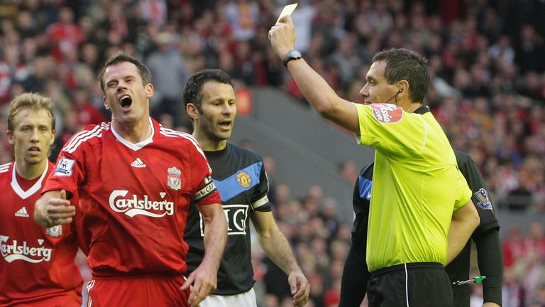 Should Jamie Carragher have seen two red cards in this fixture?