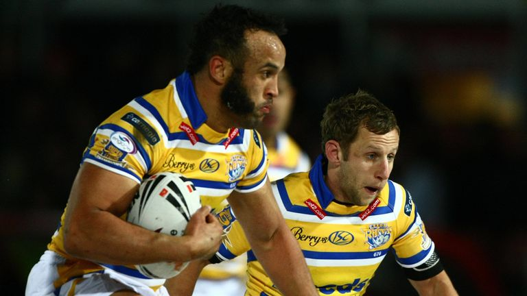 Jamie Jones-Buchanan and Rob Burrow will both feature in Leeds' match against Bradford