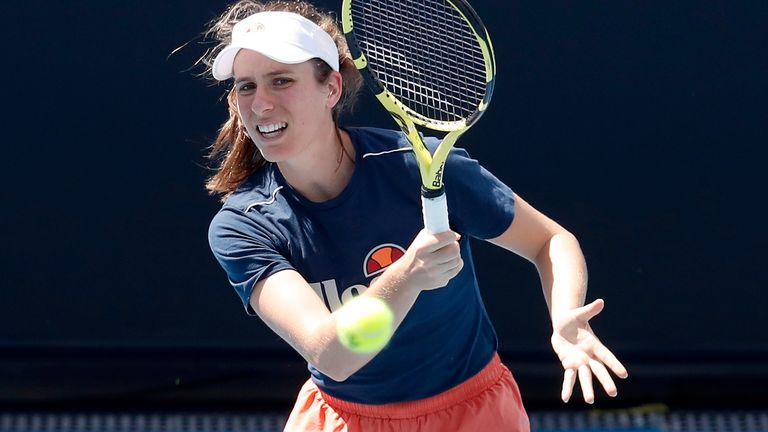 Johanna Konta was handed a tough opening encounter