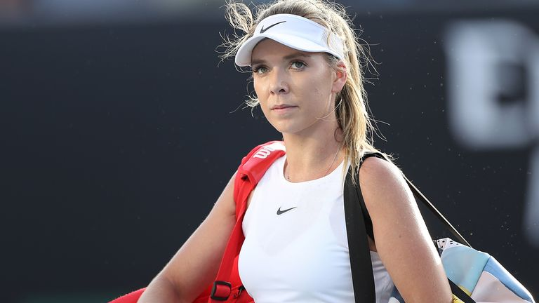 Katie Boulter made a promising return to Grand Slam tennis despite defeat