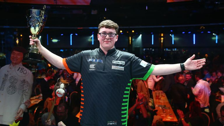 Keane Barry beat Leighton Barry to win the World Youth Championship last weekend - now he hopes to secure a two-year PDC Tour Card