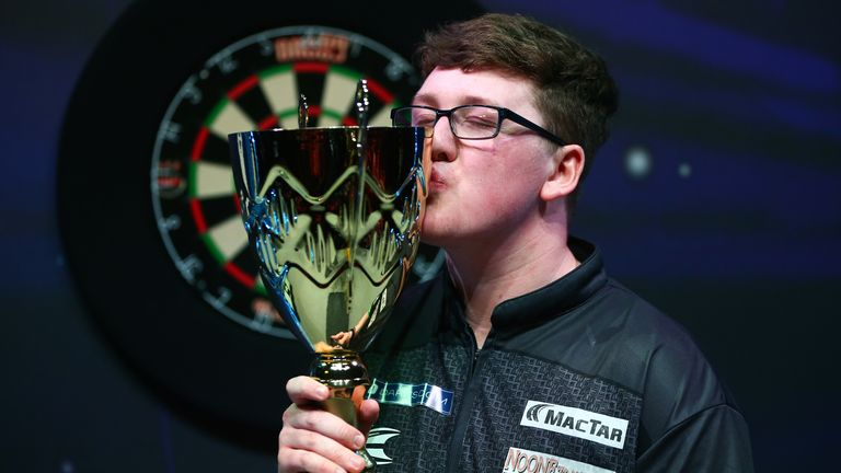 Keane Barry is hoping to secure a PDC Tour Card this weekend