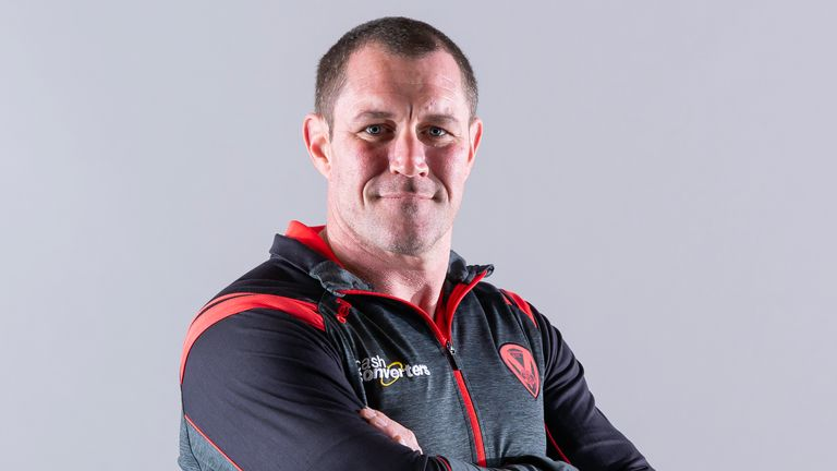 Kristian Woolf has taken over from Justin Holbrook at St Helens