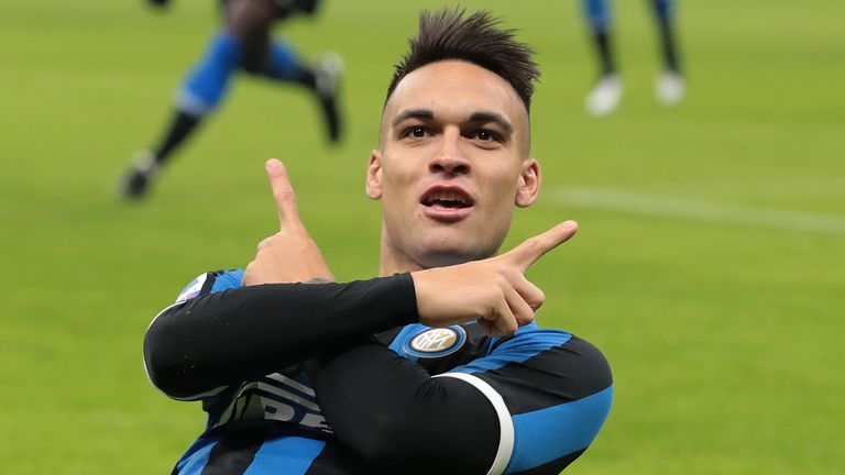 Inter striker Lautaro Martinez is one of Barcelona's top targets this summer