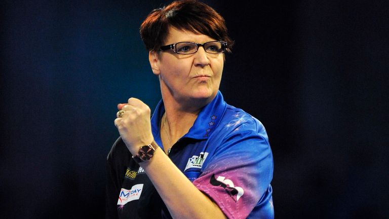 Lisa Ashton is the first woman in history to win a PDC Tour Card
