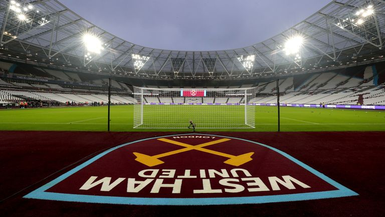 The London Stadium is set to be divided into zones for the season restart