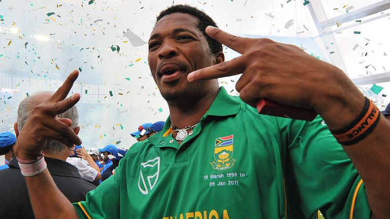Ntini took 266 ODI wickets to go with the 390 he claimed in Tests