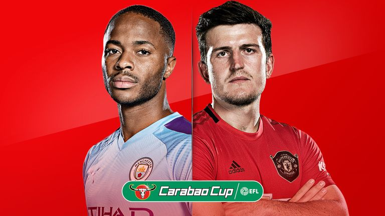 City and United clash in the second leg of the Carabao Cup semi-finals on Wednesday night