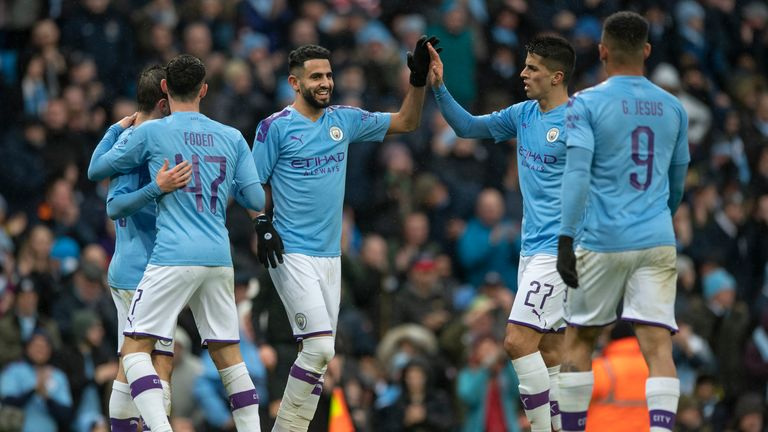 A crowd of 39,223 watched Manchester City beat Fulham 4-0 in the FA Cup fourth round on Sunday