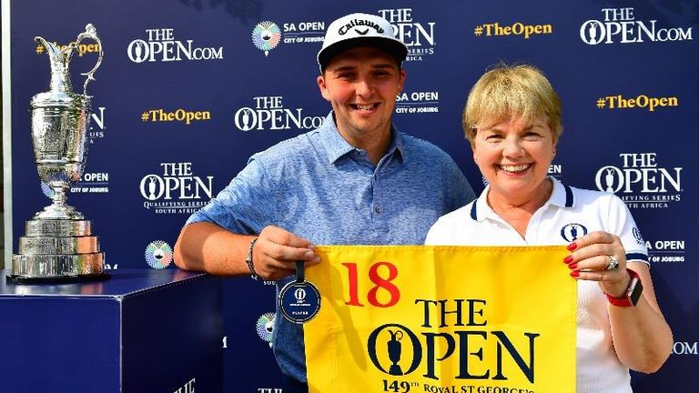 Marcus Armitage will tee up at The Open in July