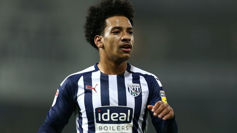 Matheus Pereira played the full match in West Brom's defeat on Monday night at the Hawthorns