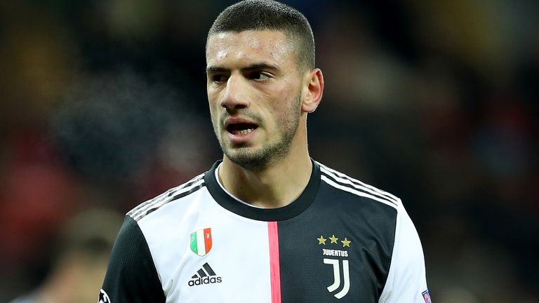 Merih Demiral only joined Juventus in the summer