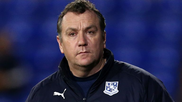 Micky Mellon's Tranmere are currently in the League One relegation zone