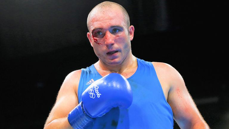 Mihai Nistor halted Joshua in the amateurs but was stopped by Makhmudov
