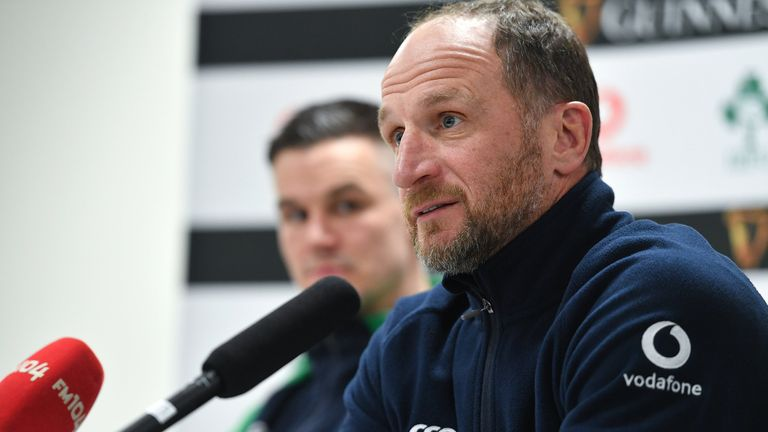Catt was speaking to media at Ireland's Friday press conference