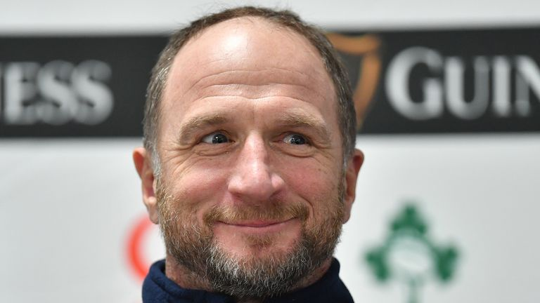 Mike Catt is a member of the Ireland coaching staff