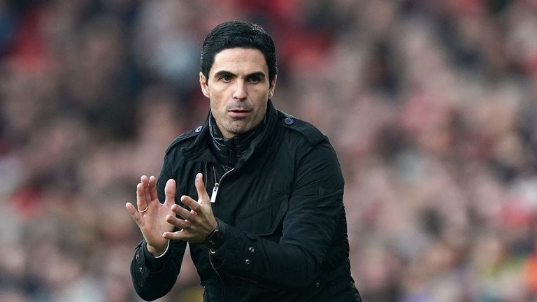 Mikel Arteta is keen to create strong team unity at Arsenal