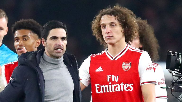 Arsenal failed to trigger a clause which automatically would have extended Luiz's contract into a second season