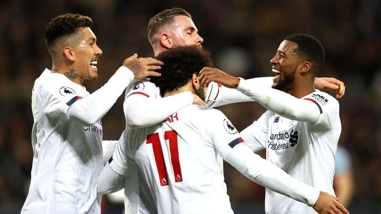 Liverpool are unbeaten in 42 Premier League games