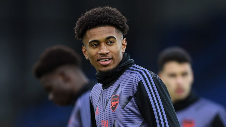 Reiss Nelson has started three of Arsenal's last five matches in all competitions
