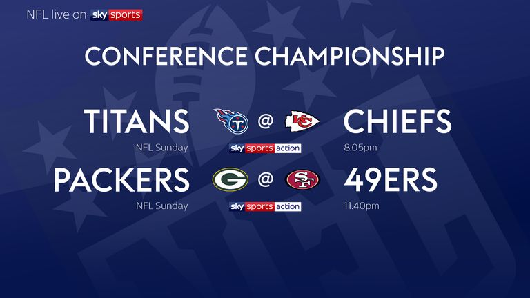Your Conference Championship games!