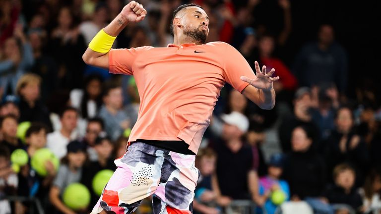 Kyrgios says he had 'no happy feelings' about tennis