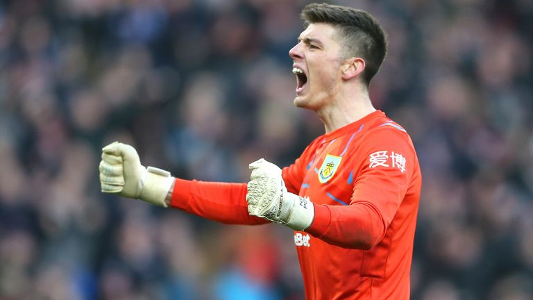 Nick Pope has had a great season for Burnley