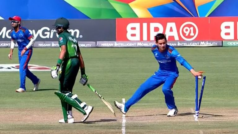 Pakistan defeat Afghanistan to set up semi-final clash with India