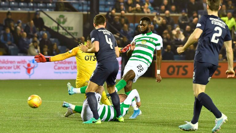 Edouard had the chance to break the deadlock when he fired wide