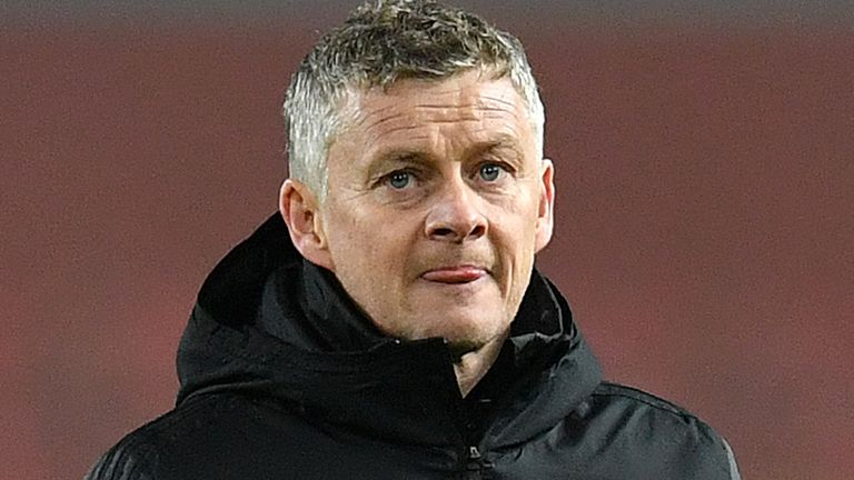 Ole Gunnar Solskjaer has seen his Manchester United side lose their last two matches without scoring a goal