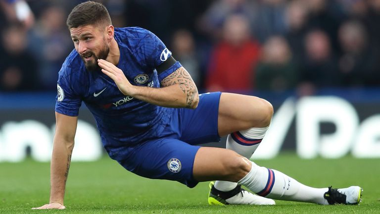 Inter Want Giroud But No Talks Since Xmas Chelsea 07 January 2020 10 00 Sport News