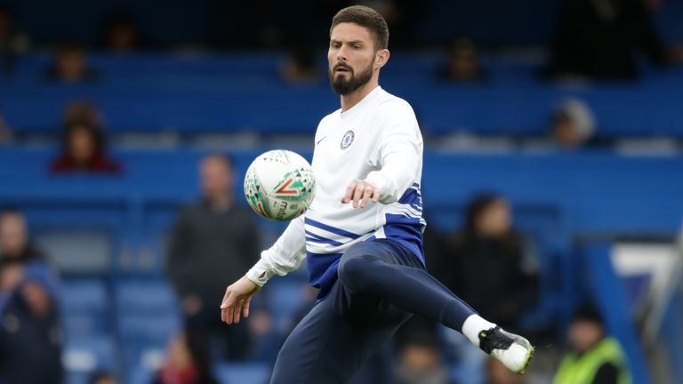 Olivier Giroud is set to become a free agent on July 1