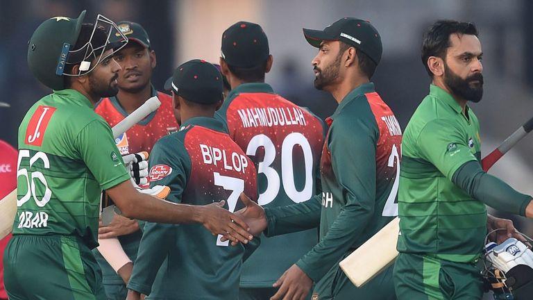 Pakistan beat Bangladesh 2-0 in the three-match T20I series