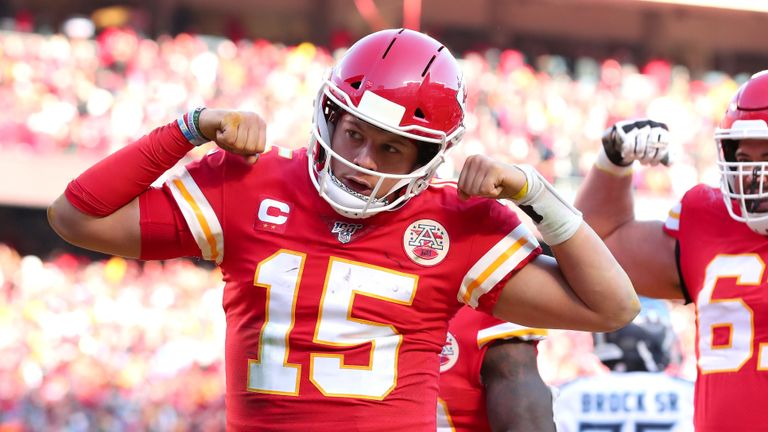 Trump expects the new NFL season to start on time with fans able to watch the likes of Patrick Mahomes